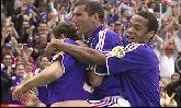 11-Jun-2000 - France-Denmark - Goal by Blanc (France) on 16' (1-0)