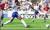 16-Jun-2000 - Czech Republic-France - Goal by Henry (France) on 6' (0-1)