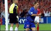 16-Jun-2000 - Denmark-Netherlands - Goal by R. de Boer (Netherlands) on 66' (0-2)