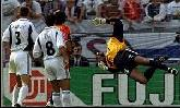 18-Jun-2000 - Slovenia-Spain - Goal by Raul (Spain) on 4' (0-1)