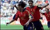 18-Jun-2000 - Slovenia-Spain - Goal by Etxeberria (Spain) on 60' (1-2)