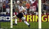 20-Jun-2000 - England-Romania - Goal by Owen (England) on 45' (2-1)