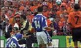 25-Jun-2000 - Yugoslavia-Netherlands - Goal by Govedarica (Yugoslavia) on 51', own goal (0-3)