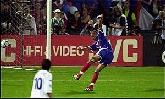02-Jul-2000 - France-Italy - Goal by Trezeguet (France) on 103' (2-1)